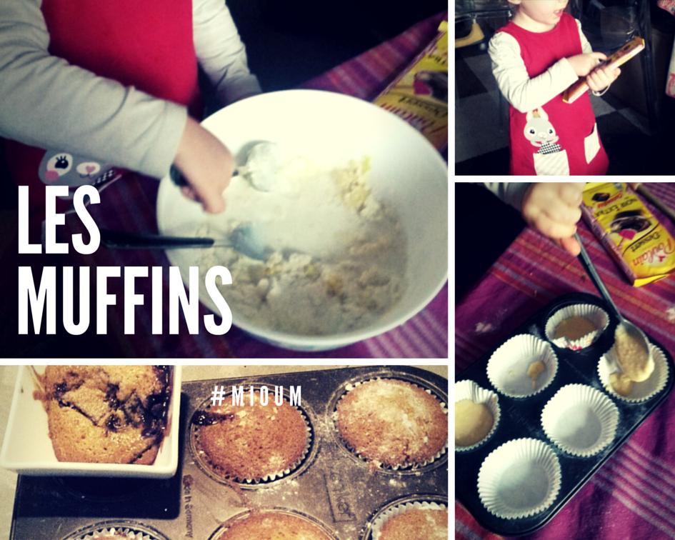 Les gâteaux du samedi : les muffins au chocolat carambar