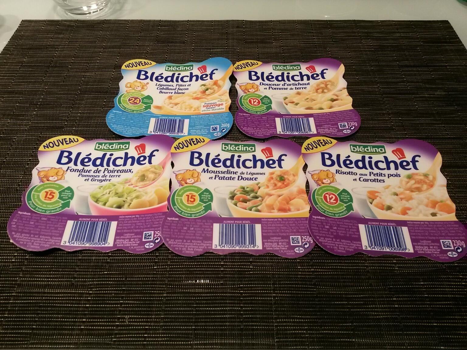 Les nouvelles recettes Blédichef #bledifamily