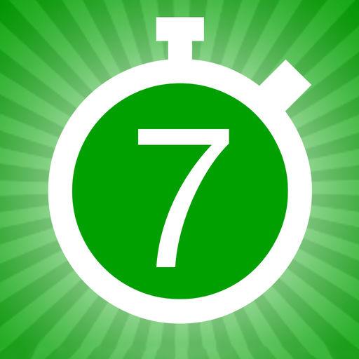 7 minutes exercices logo sport