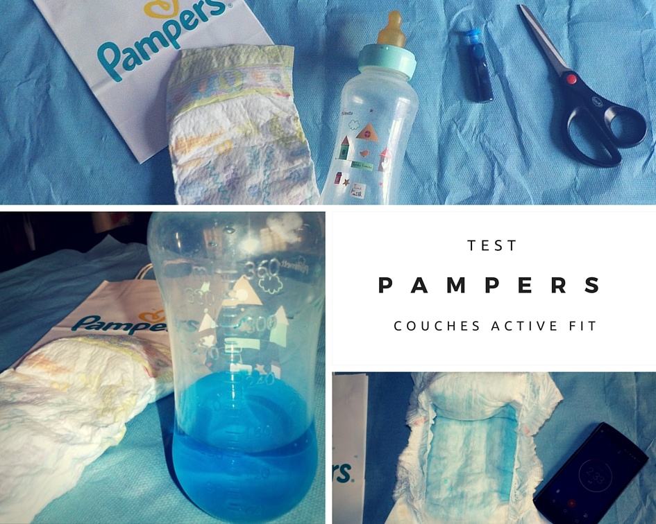 Pampers Premium : la super couche anti-paquet #PampersInnovation #ActiveFit (concours terminé)
