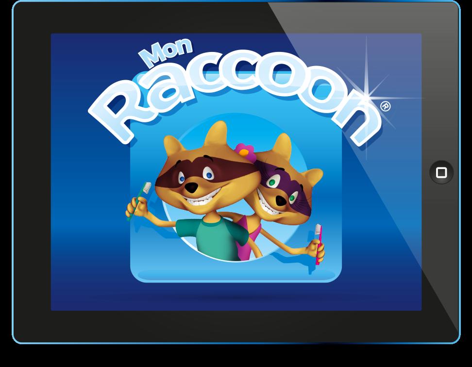 Mon Raccoon, pour bien se brosser les dents #Appli