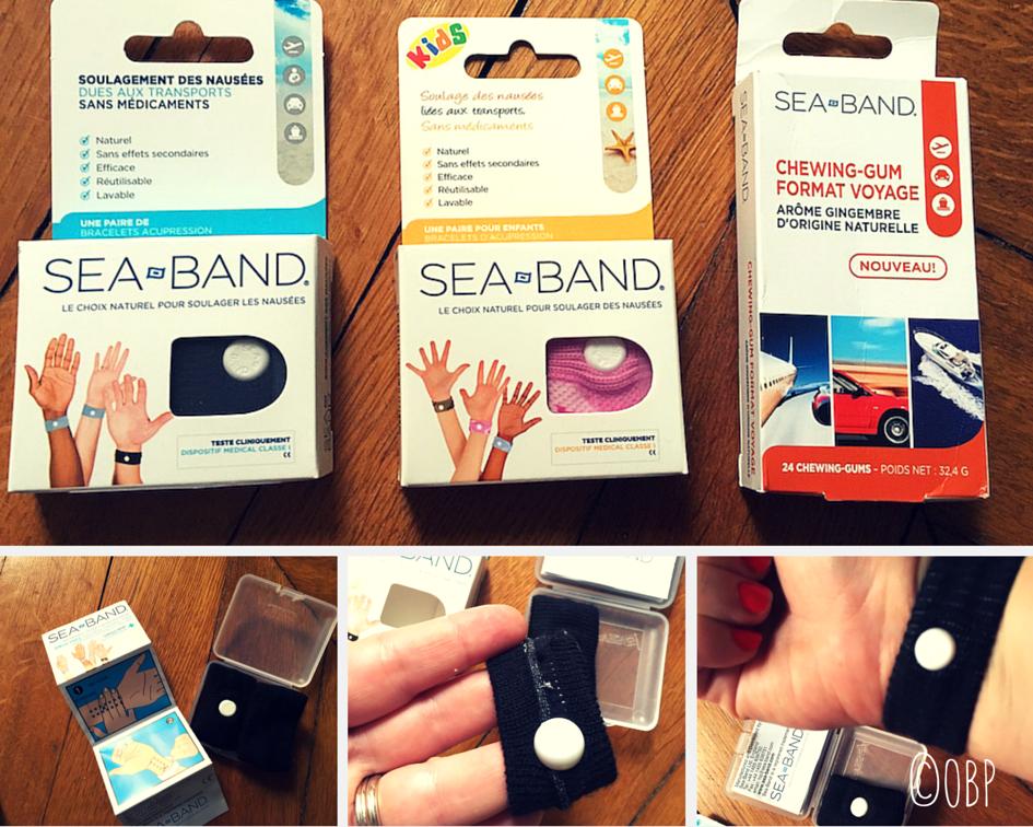 Les bracelets sea-band anti nausées