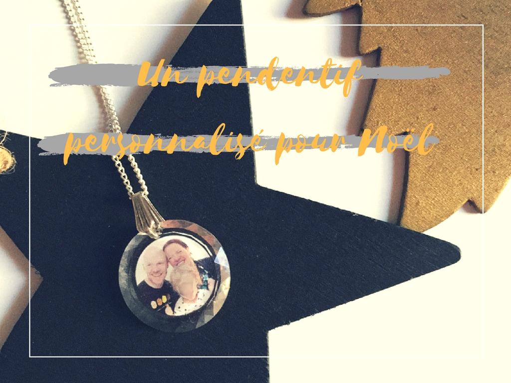 Offrir un pendentif personnalisé pour Noel ; good idea !