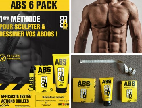 Bannière ABS6 pack sculpter vos abdominaux