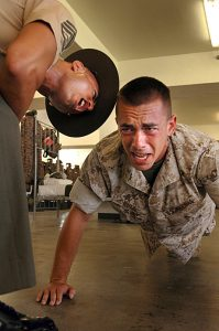 pompe exercice sergent chef