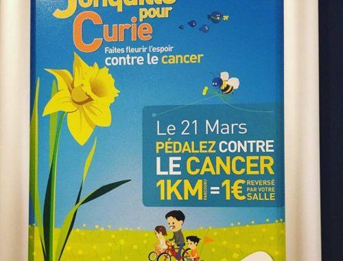 UNE JONCQUILLE POUR CURIE #solidarité #cancer
