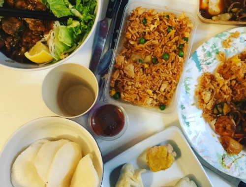 Alloresto by just eat : thailandais !