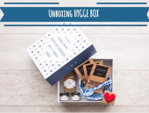Unboxing de la Hygge Box