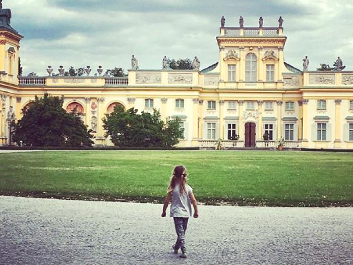 Crevette au chateau de Wilanow - Pologne