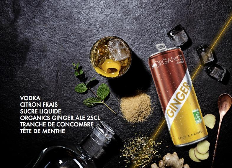 Ginger Ale Organics