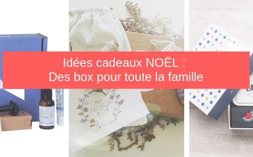Ma sélection de box de noel pour toute la famille