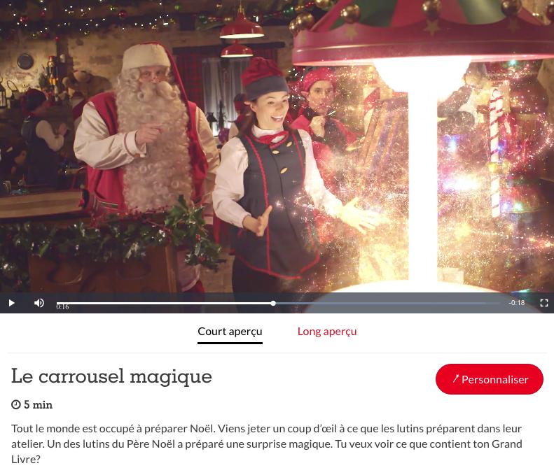 la vidéo Le Carrousel Magique